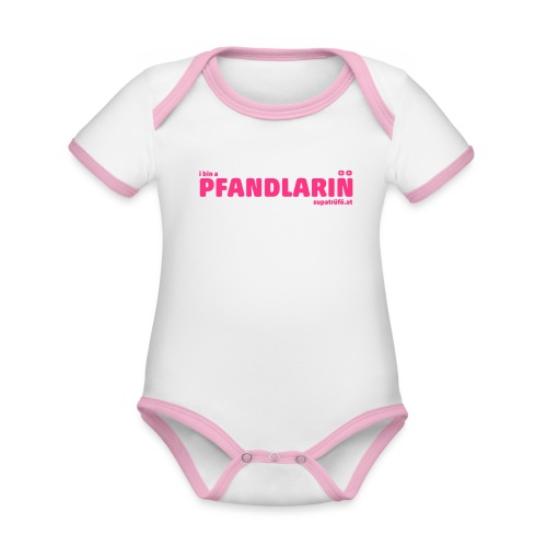 SUPATRÜFÖ PFANDLARIN - Baby Bio-Kurzarm-Kontrastbody