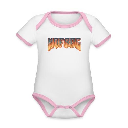 TshirtNF DOOM - Body Bébé bio contrasté manches courtes