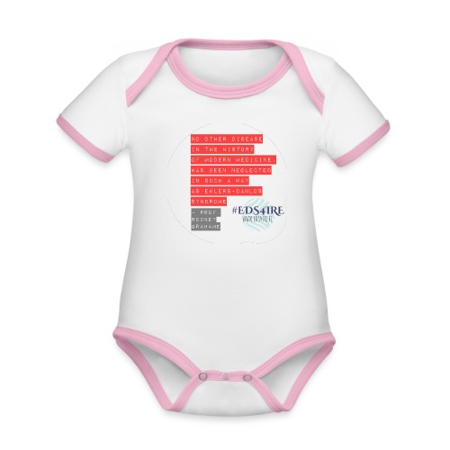 Rodney Grahame Quote #EDS4IRE - Organic Baby Contrasting Bodysuit