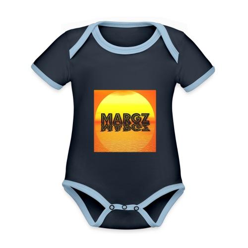 Sunset over Margz - Organic Baby Contrasting Bodysuit