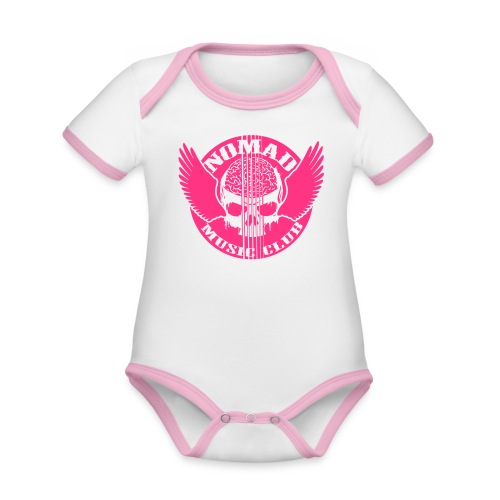 Nomads Double Print - Organic Baby Contrasting Bodysuit