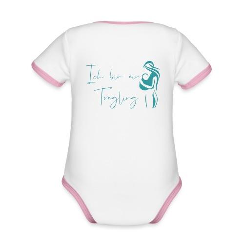 Tragling2 - Baby Bio-Kurzarm-Kontrastbody