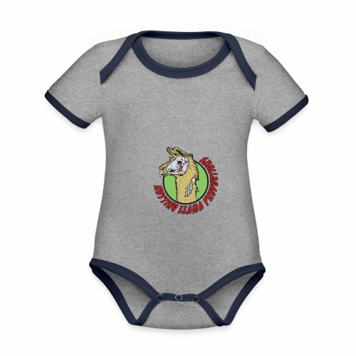 Rotting Llama Productions - Organic Baby Contrasting Bodysuit