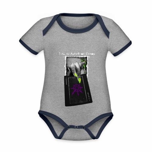 Agent of Chaos - Body contraste para bebé de tejido orgánico