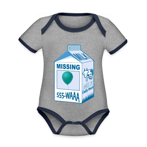Missing: balloon - Organic Baby Contrasting Bodysuit