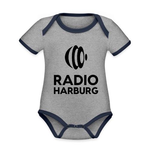 Radio Harburg - Baby Bio-Kurzarm-Kontrastbody
