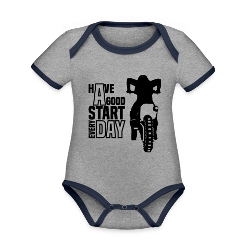 Have a good Start MX (HQ) - Baby Bio-Kurzarm-Kontrastbody