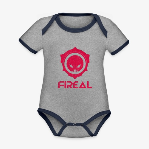 Fireal Imperial Design tote bag - Organic Baby Contrasting Bodysuit