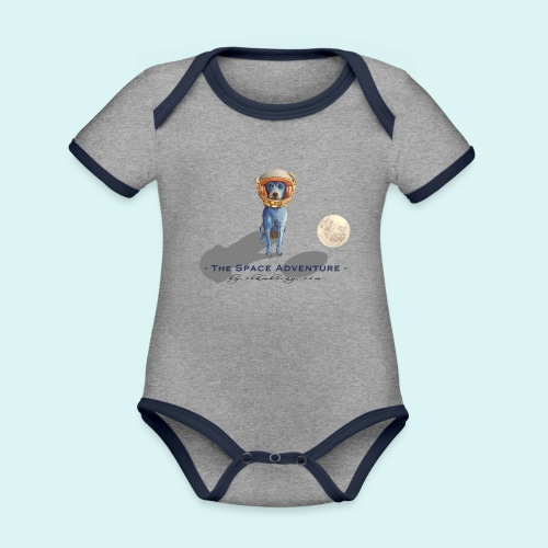 The Space Adventure - Organic Baby Contrasting Bodysuit