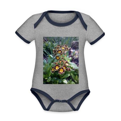 Primel - Baby Bio-Kurzarm-Kontrastbody