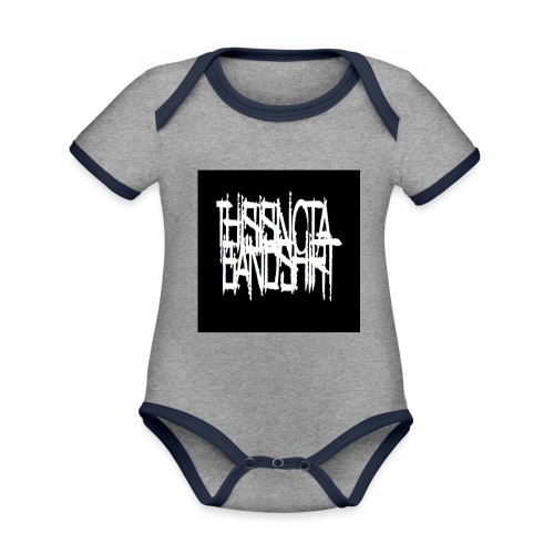 des jpg - Organic Baby Contrasting Bodysuit
