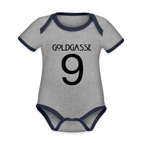 Goldgasse 9 - Back - Organic Baby Contrasting Bodysuit