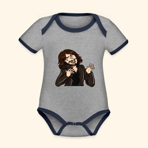 LEATHERJACKETGUY - Organic Baby Contrasting Bodysuit