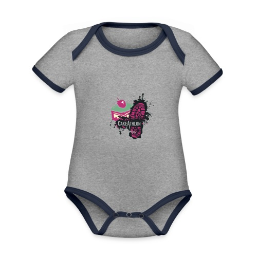 Team OA CakeAthlon - Organic Baby Contrasting Bodysuit
