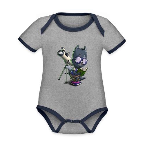 Li'l Wolfie: SiLee Films - Organic Baby Contrasting Bodysuit