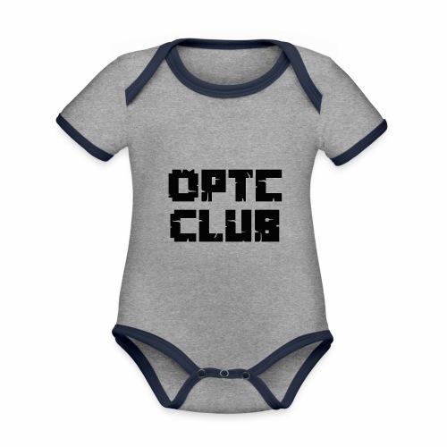 club optc - Baby Bio-Kurzarm-Kontrastbody
