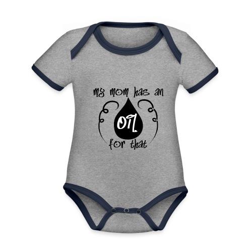 my mom has an oil for this - Baby Bio-Kurzarm-Kontrastbody