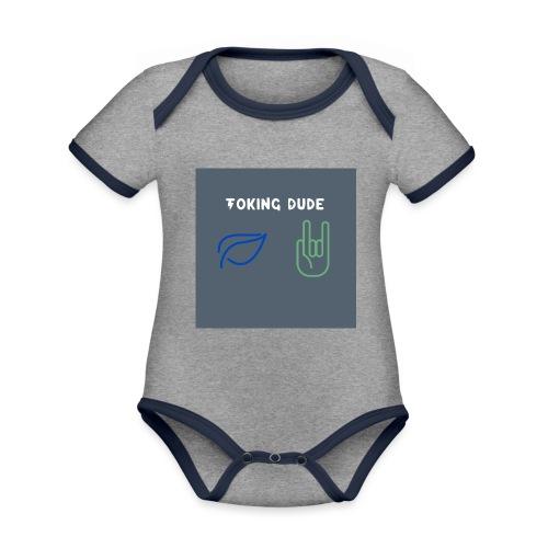 Toking DUDE - Organic Baby Contrasting Bodysuit