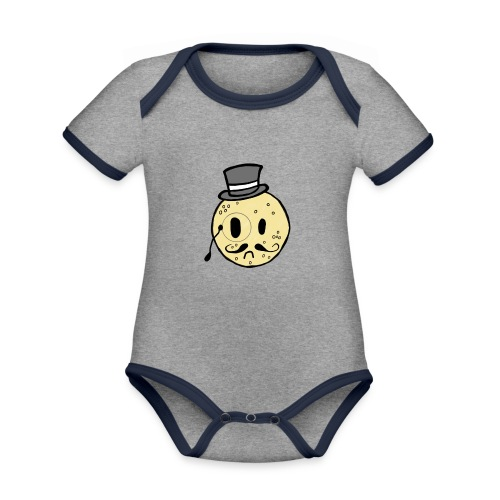 Crumpet Squad Mens T - Organic Baby Contrasting Bodysuit