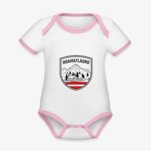 hoamatlaund österreich - Baby Bio-Kurzarm-Kontrastbody