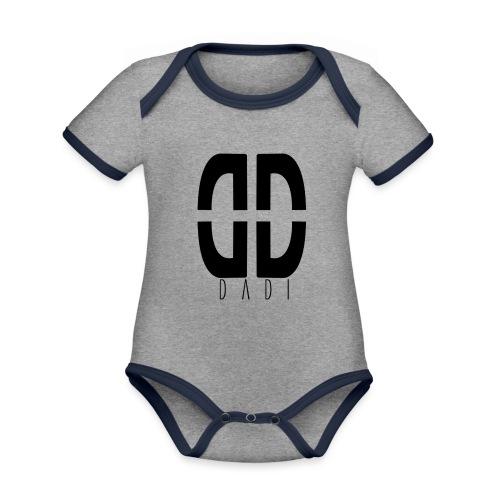 dadi logo png - Baby Bio-Kurzarm-Kontrastbody
