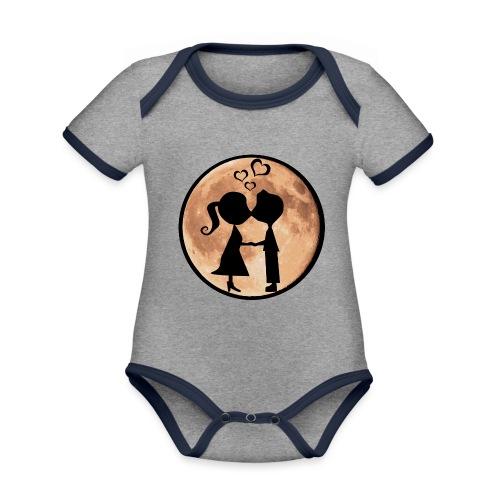 Isle under the Moon - Organic Baby Contrasting Bodysuit