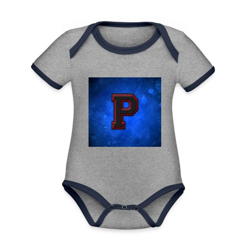 ProspiloTV LOgo - Organic Baby Contrasting Bodysuit