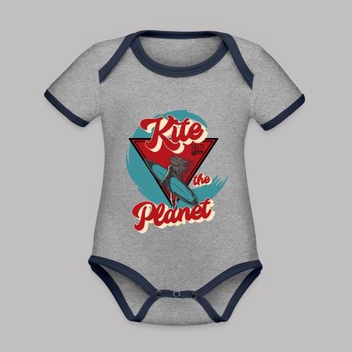 ktp salty sisters surf - Baby Bio-Kurzarm-Kontrastbody