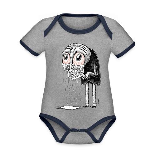 Crybaby 1 - Organic Baby Contrasting Bodysuit