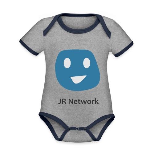 JR Network - Organic Baby Contrasting Bodysuit