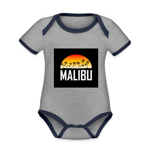 Malibu Nights - Organic Baby Contrasting Bodysuit