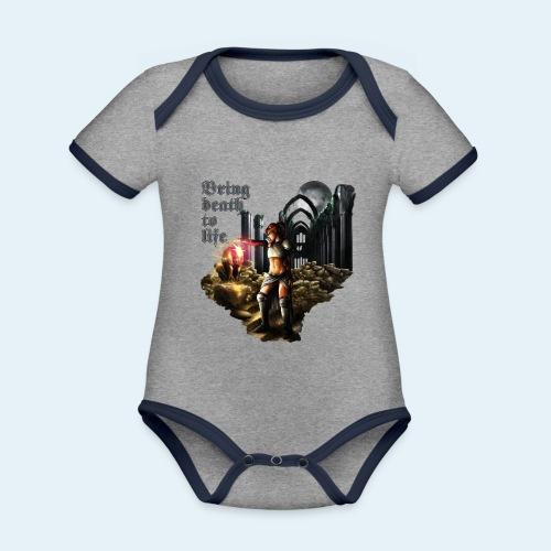 Bring death to life - Body contraste para bebé de tejido orgánico
