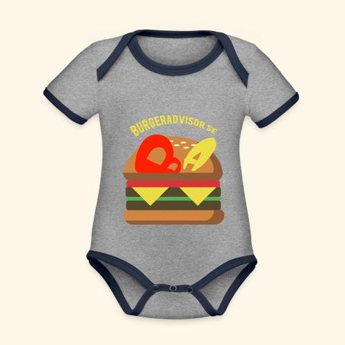 BA logolink200dpi - Organic Baby Contrasting Bodysuit