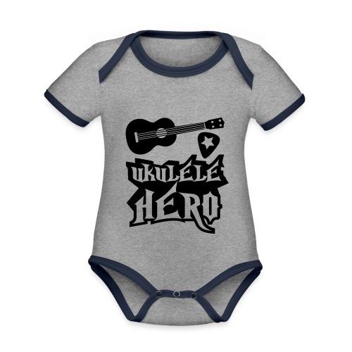 Ukelele Hero - Organic Baby Contrasting Bodysuit