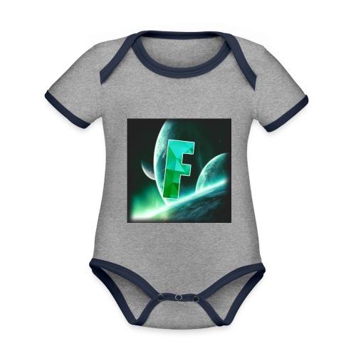 Fahmzii's masterpiece - Organic Baby Contrasting Bodysuit
