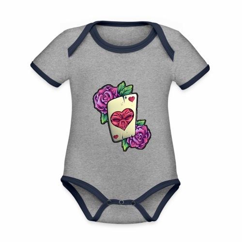 Tarot Mortal - Body contraste para bebé de tejido orgánico