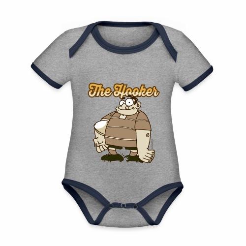 Hooker_Marplo_mug - Body da neonato a manica corta, ecologico e in contrasto cromatico