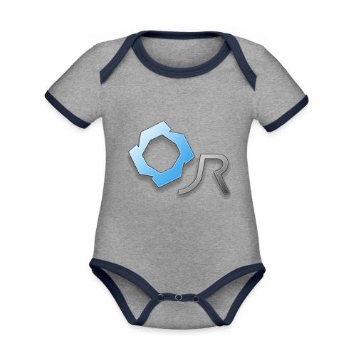 Original JR Logo - Organic Baby Contrasting Bodysuit