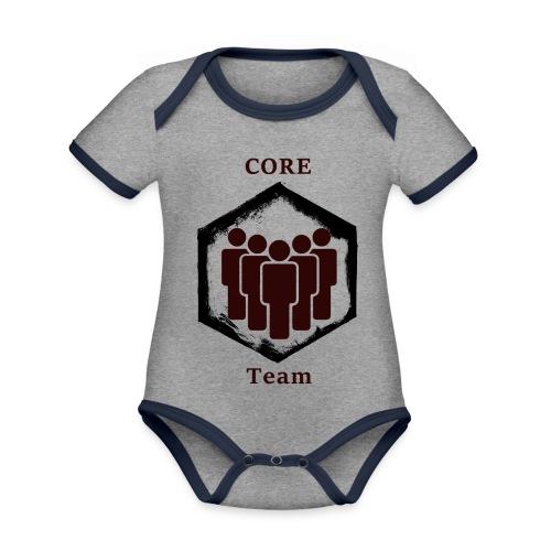 CoreTeam - Baby Bio-Kurzarm-Kontrastbody