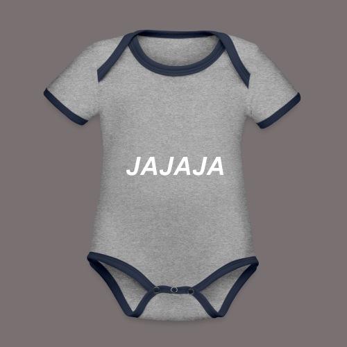 Ja - Baby Bio-Kurzarm-Kontrastbody