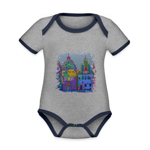 Riga - Baby Bio-Kurzarm-Kontrastbody