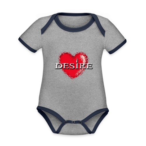 Desire Nightclub - Organic Baby Contrasting Bodysuit