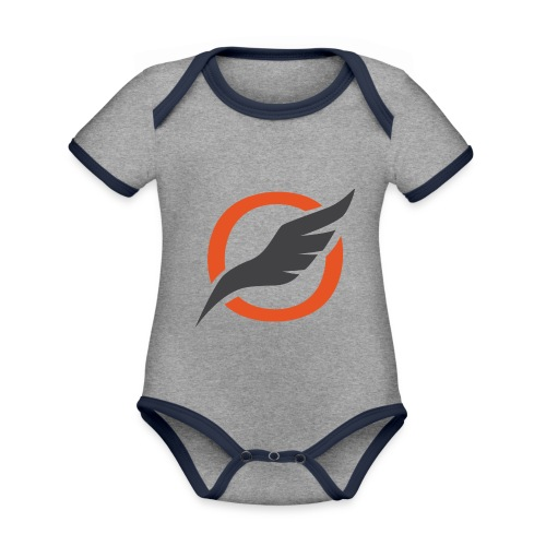 O Sign png - Organic Baby Contrasting Bodysuit