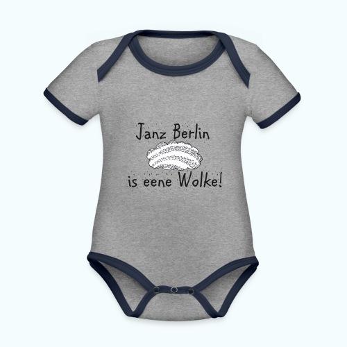 Berlin Fan - Organic Baby Contrasting Bodysuit