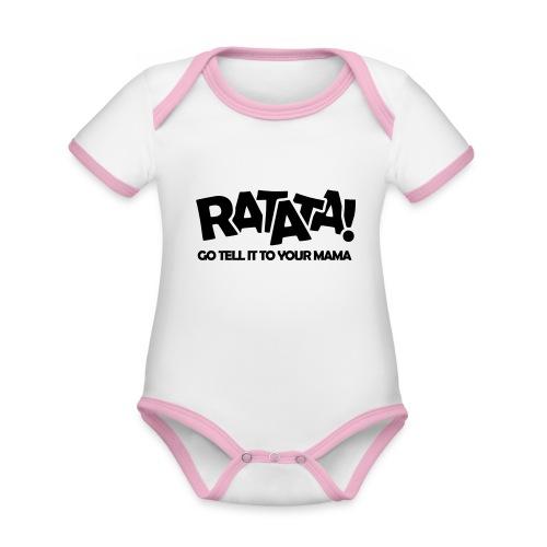 RATATA full - Baby Bio-Kurzarm-Kontrastbody