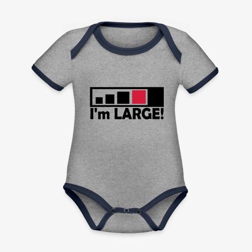 large_geocacher - Baby Bio-Kurzarm-Kontrastbody