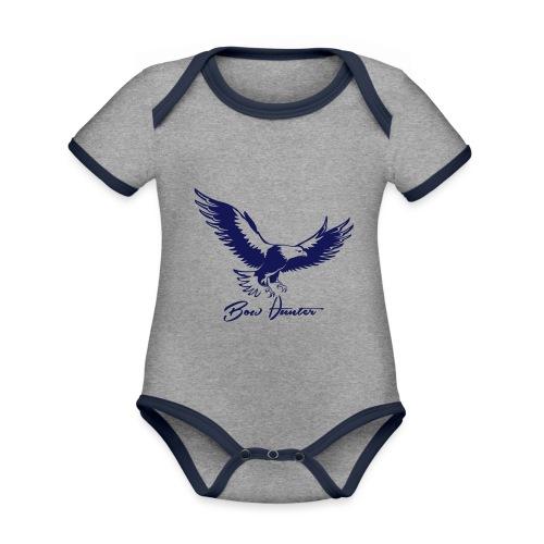 Eagle Bow Hunter - Baby Bio-Kurzarm-Kontrastbody