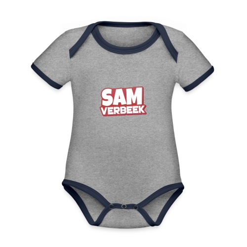 Products - Organic Baby Contrasting Bodysuit