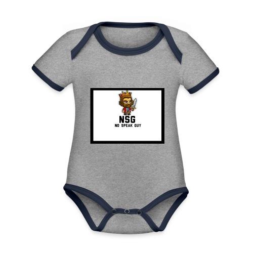 Test design - Organic Baby Contrasting Bodysuit