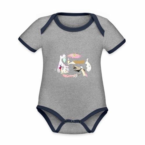 Pintular - Body contraste para bebé de tejido orgánico